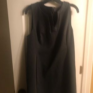 Ann Taylor Gray Shift Dress